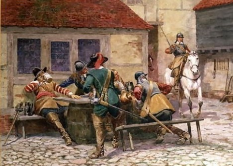 English-Civil-War-In-1645,-1900