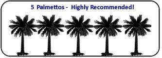 5 palmettos