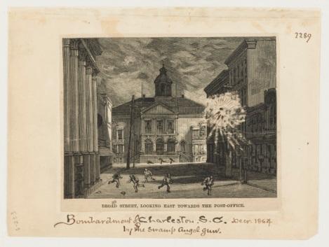 bombardment, broad street 1864