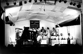 Ellington Orchestra on the Newport stage