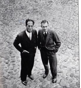 George Gershwin and Debose Heyward on Chalmers Street, Charleston, SC