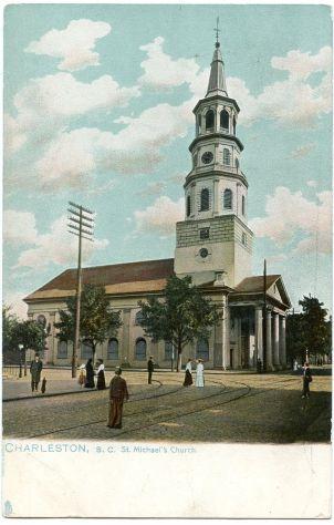st. michael's - postcard