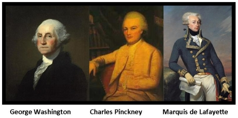 washington-pinckney-lafayette