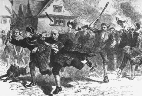Stamp Act Rioting