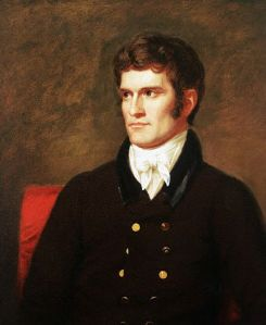 1822 portrait of John C. Calhoun ... before he became so scary-looking.