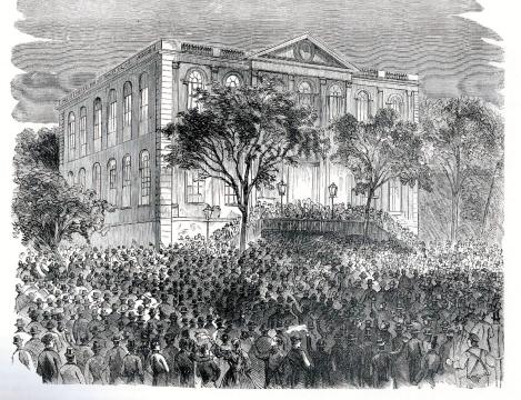 city hall - lincoln election