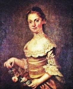 Martha Laurens (daughter of Henry and Eleanor Laurens). John Wollaston c 1767