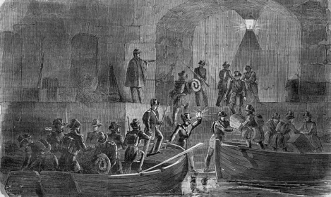 anderson-enters-fort-sumter - harpers weekly