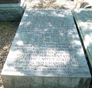 pinckney headstone