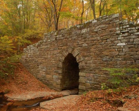 Poinsett Bridge in Traveler's Rest, SC