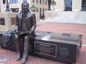 Poinsett-statue