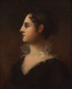 Theodosia Burr Alston by John Vanderlyn - New York Historical Society