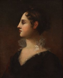 Theodosia Burr Alston by John Vanderlyn - New York Historical Society