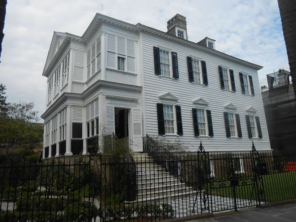 William Washington House, 8 South Battery, Charleston