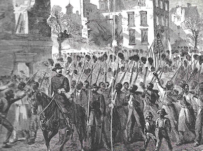 Colonel_Charles_Fox_Leads_the_Massachusetts_55th_Regiment_into_Charleston
