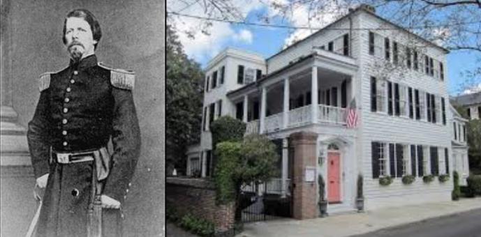 Bernard Bee; Peter Fayssoux House, Tradd Street, Charleston