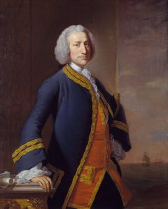 Lord Anson, 1755