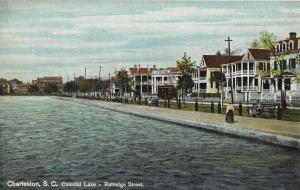 colonial lake - 1910