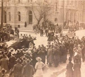 Eamon De Valera arrives in Charleston