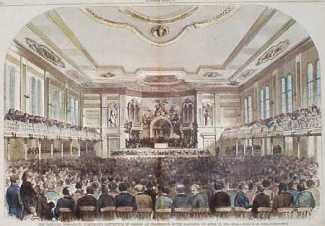 1860 Democrat Convention (Harper's Weekly)