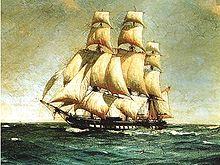 A frigate class vessel, similar to the Carolina.