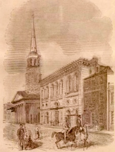 Meeting Street view of the 1806 Circular Church