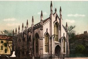 French Huguenot Church postcard