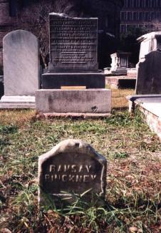 Ramsay grave, Circular Church graveyard