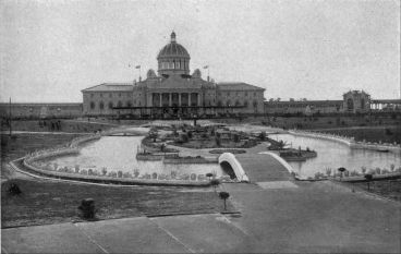 The Cotton Palace and Sunken Gardens