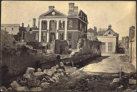 Ruins of the Pinckney mansion
