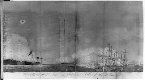 British fleet in Charlestown