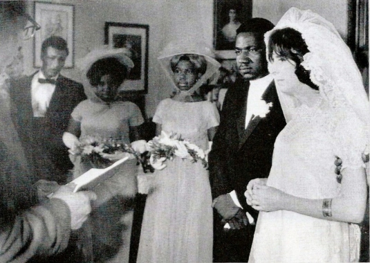 Wedding ceremony at 56 Society Street