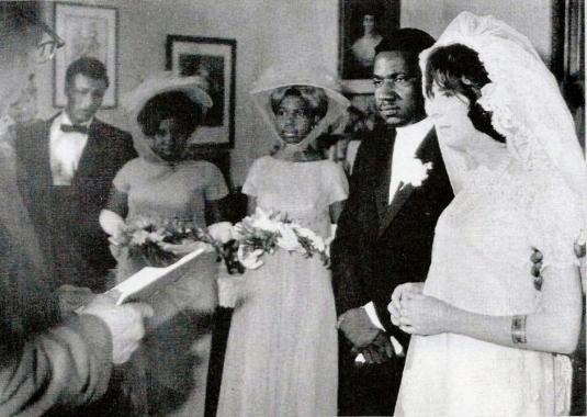 Wedding ceremony at 56 Society Street