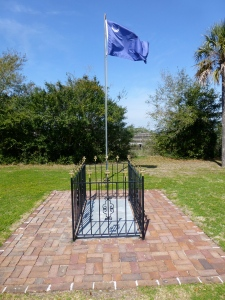 William Moultrie grave, Ft. Moultrie