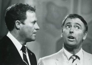 Dan Rowan and Dick Martin, Rowan & Martin's Laugh-In.