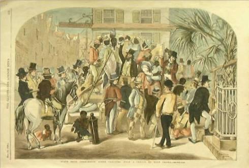 Charleston slave sale