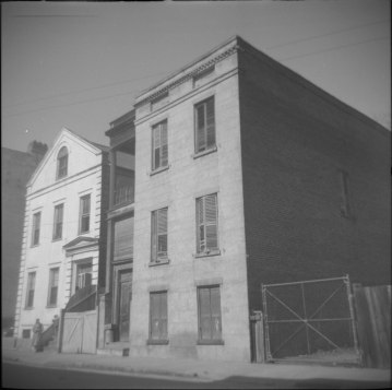 54 & 56 Society Street, Ansonborough neighborhood, Charleston, 1960s