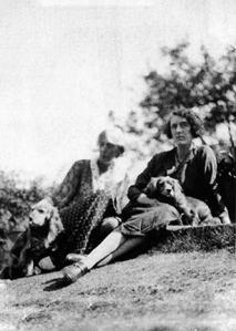 Vita Sackville-West and Virginia Wolfe