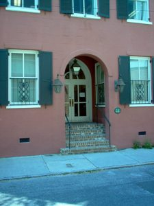 "11 Fulton Street, commonly called ""The Big Brick"" by Charleston locals. Owned and operated by the infamous Grace Piexotto."