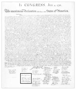 declaration with SC delegate signature