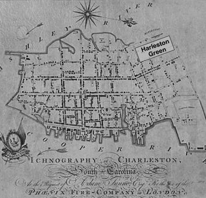 harleston green - 1788 map