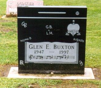 buxton headstone