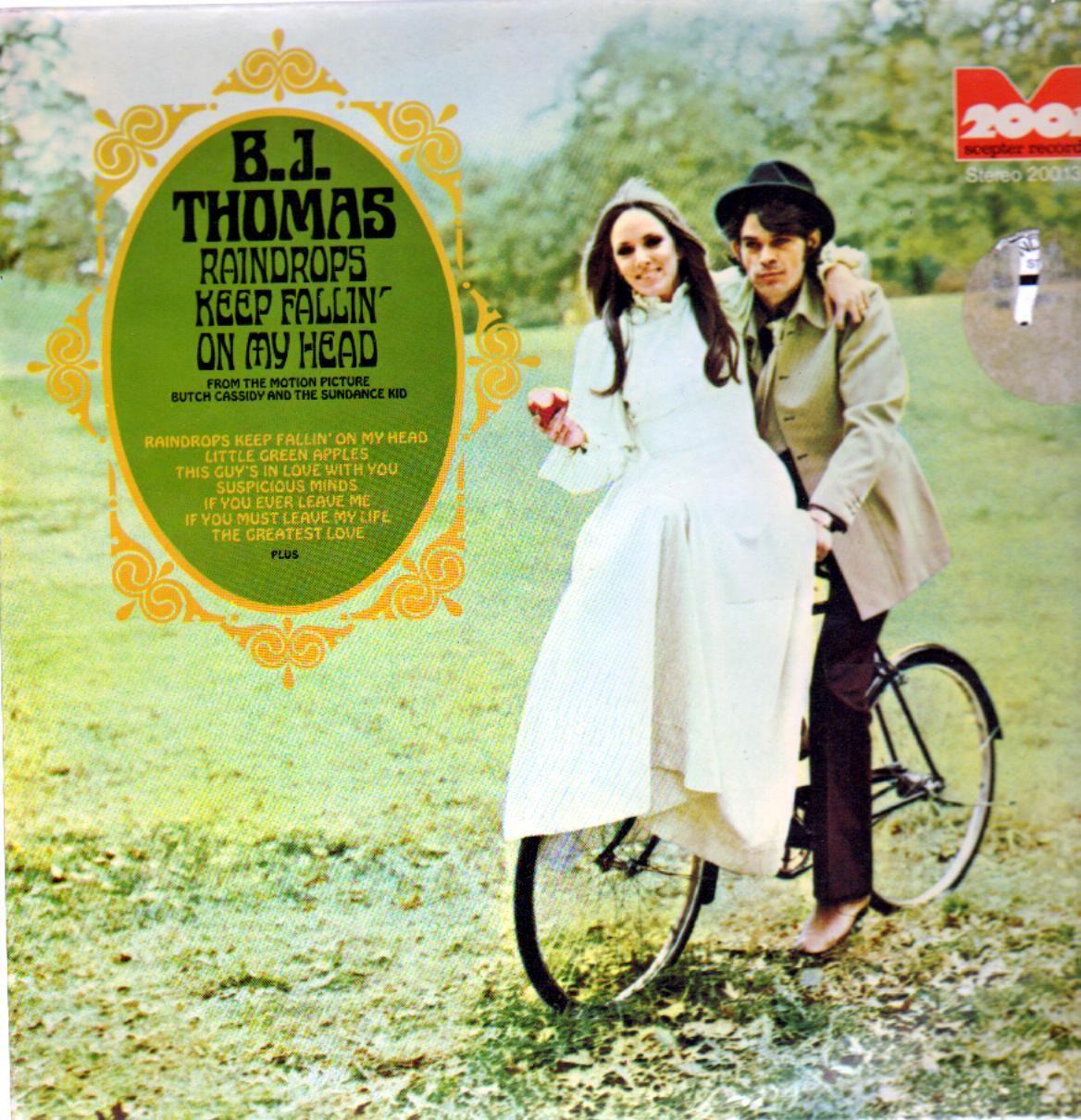 b.j. thomas – raindrops keep falling on my head