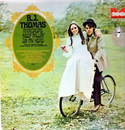 b.j. thomas – raindrops keep falling on my head