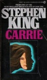 Carrie - Stephen King - Signet Books - 1980s reprint pbk